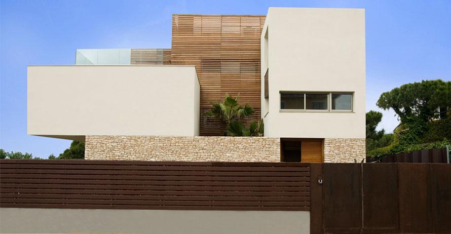Viviendas unifamiliares proyectos juli p rez catal - Proyectos casas unifamiliares ...