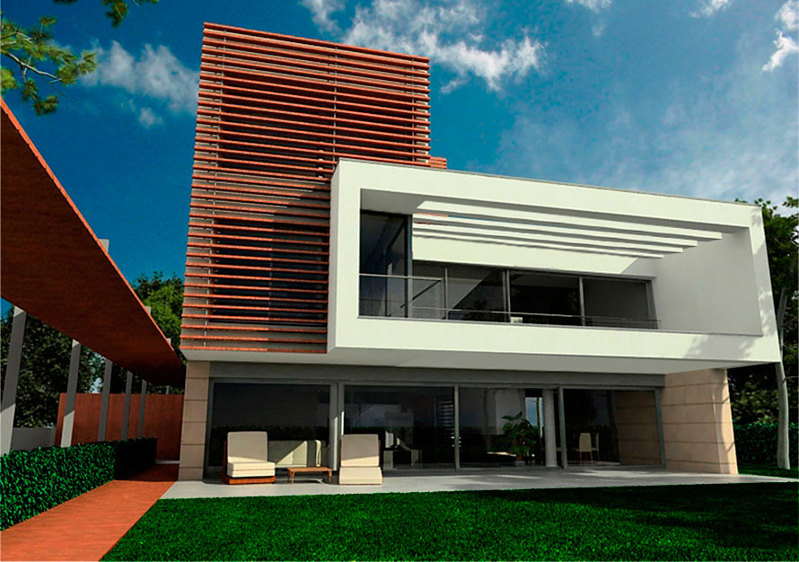 Gav c cubelles vivienda unifamiliar juli p rez catal - Proyectos casas unifamiliares ...